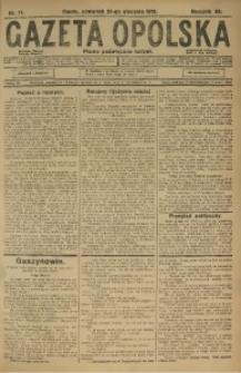 Gazeta Opolska, 1915, R. 25 [właśc. 26], nr 11