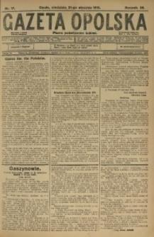 Gazeta Opolska, 1915, R. 25 [właśc. 26], nr 17