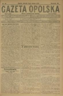 Gazeta Opolska, 1915, R. 25 [właśc. 26], nr 18