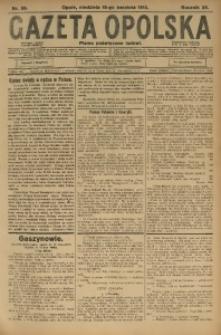 Gazeta Opolska, 1915, R. 25 [właśc. 26], nr 59