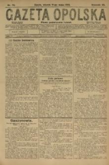 Gazeta Opolska, 1915, R. 25 [właśc. 26], nr 72