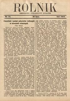 Rolnik, 1929, [R. 27], nr31