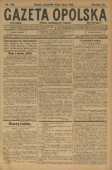 Gazeta Opolska, 1915, R. 25 [właśc. 26], nr 109