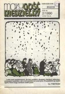 Mały Gość Niedzielny, 1990, R. 36, nr 2