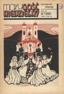 Mały Gość Niedzielny, 1990, R. 36, nr 6