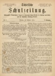 Schlesische Schulzeitung, 1876, Jg. 5, Nr. 8