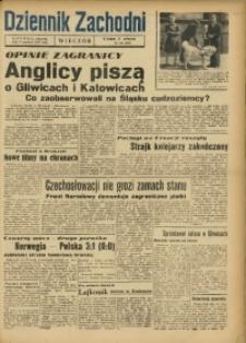 Dziennik Zachodni Wieczór, 1947, [R. 2], nr 138