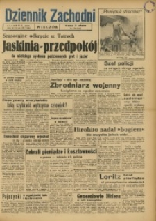 Dziennik Zachodni Wieczór, 1947, [R. 2], nr 174