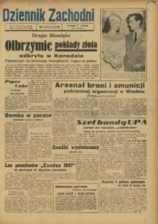 Dziennik Zachodni Wieczór, 1947, [R. 2], nr 210