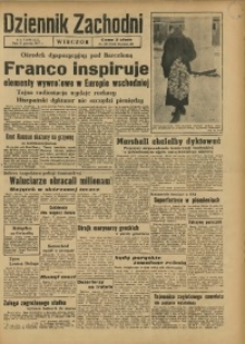 Dziennik Zachodni Wieczór, 1947, [R. 2], nr 299