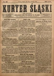 Kuryer Śląski, 1920, R. 12 [właśc. 14], nr89
