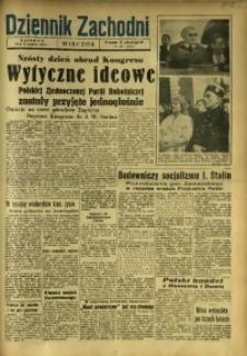 Dziennik Zachodni Wieczór, 1948, [R. 3], nr 297