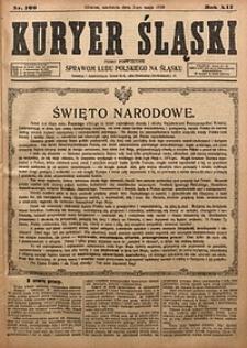 Kuryer Śląski, 1920, R. 12 [właśc. 14], nr100