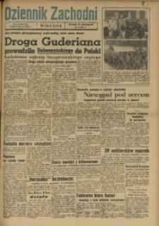 Dziennik Zachodni Wieczór, 1949, [R. 4], Nr 142