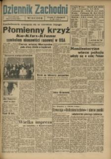 Dziennik Zachodni Wieczór, 1949, [R. 4], Nr 205