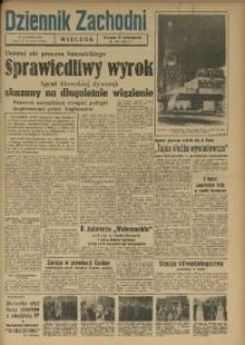 Dziennik Zachodni Wieczór, 1949, [R. 4], Nr 262