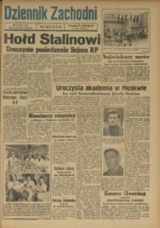 Dziennik Zachodni Wieczór, 1949, [R. 4], Nr 297