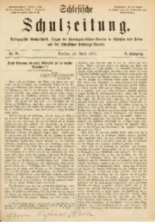 Schlesische Schulzeitung, 1877, Jg. 6, Nr. 16