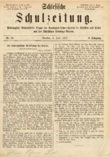 Schlesische Schulzeitung, 1877, Jg. 6, Nr. 23