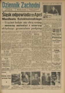 Dziennik Zachodni Wieczór, 1950, [R. 5], nr 113