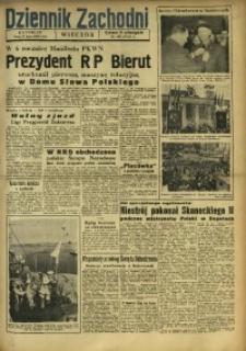 Dziennik Zachodni Wieczór, 1950, [R. 5], nr 168
