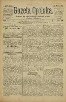Gazeta Opolska, 1891, R. 2, nr 25