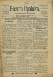 Gazeta Opolska, 1891, R. 2, nr 71