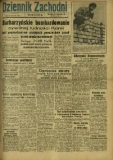 Dziennik Zachodni Wieczór, 1950, [R. 5], nr 225