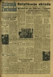 Dziennik Zachodni Wieczór, 1950, [R. 5], nr 276