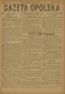 Gazeta Opolska, 1923, R. 33 [właśc. 34], nr 5