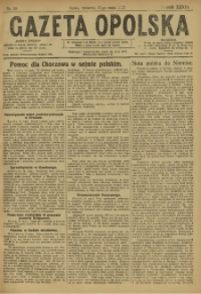 Gazeta Opolska, 1923, R. 33 [właśc. 34], nr 59