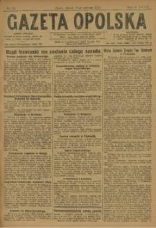 Gazeta Opolska, 1923, R. 33 [właśc. 34], nr 73