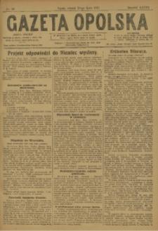 Gazeta Opolska, 1923, R. 33 [właśc. 34], nr 88