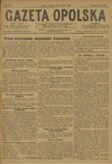 Gazeta Opolska, 1923, R. 33 [właśc. 34], nr 91