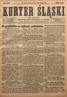 Kuryer Śląski, 1920, R. 12 [właśc. 14], nr194
