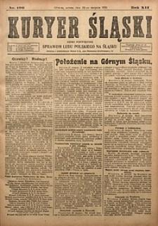Kuryer Śląski, 1920, R. 12 [właśc. 14], nr196