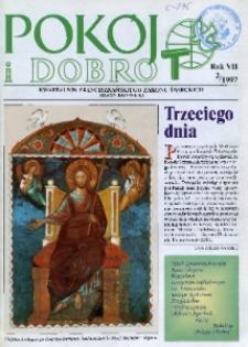 Pokój i Dobro, 1997, R. 7, nr 1