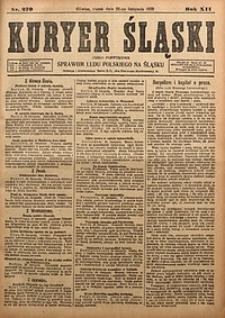 Kuryer Śląski, 1920, R. 12 [właśc. 14], nr270