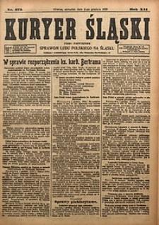 Kuryer Śląski, 1920, R. 12 [właśc. 14], nr275