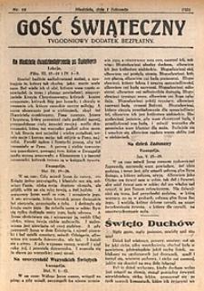 Gość Świąteczny, 1931, nr44