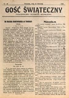 Gość Świąteczny, 1931, nr46