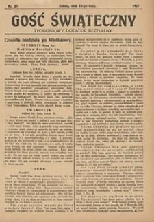 Gość Świąteczny, 1927, nr20