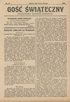 Gość Świąteczny, 1927, nr34