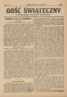 Gość Świąteczny, 1927, nr39