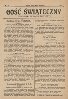 Gość Świąteczny, 1927, nr46