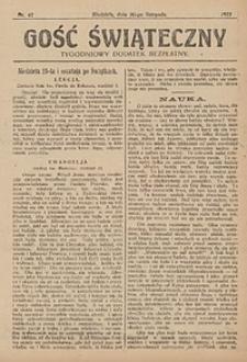 Gość Świąteczny, 1927, nr47