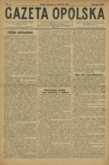 Gazeta Opolska, 1921, R. 31 [właśc. 32], nr 2