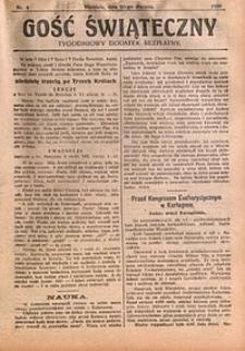 Gość Świąteczny, 1930, nr4