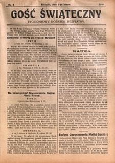 Gość Świąteczny, 1930, nr5