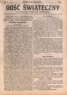 Gość Świąteczny, 1930, nr8